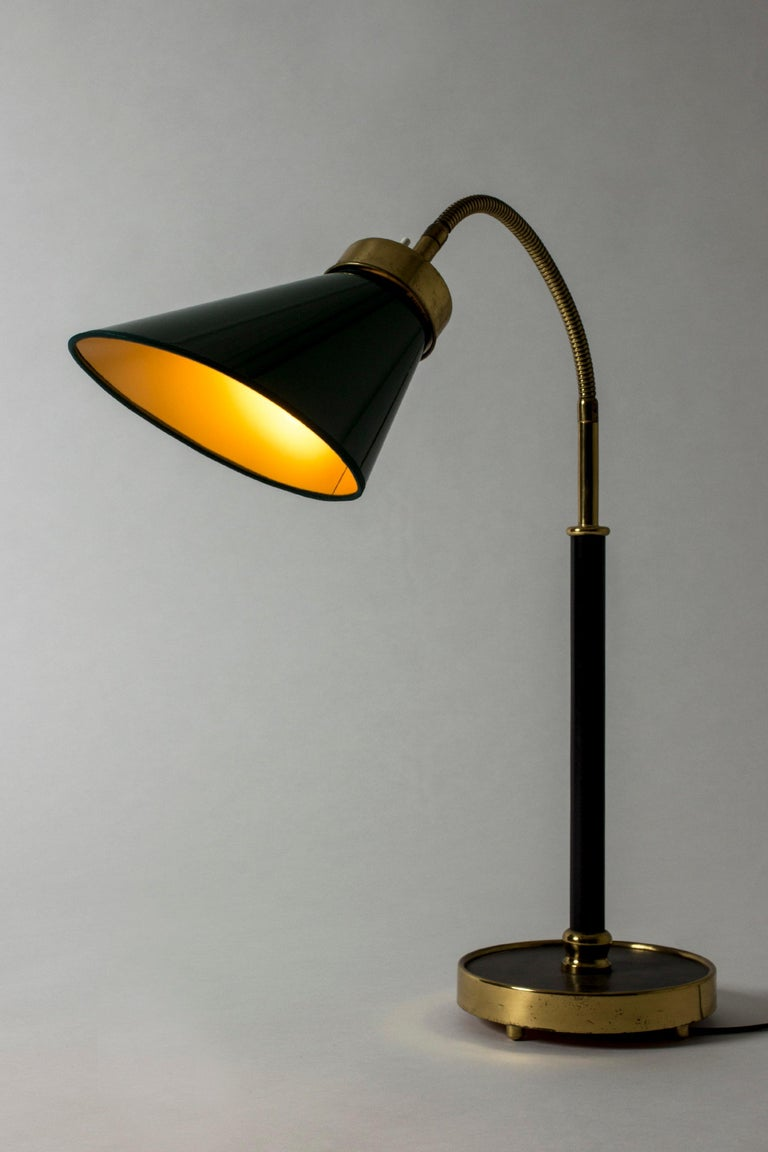 Swedish Table Lamp #2434 Designed by Josef Frank for Svenskt Tenn, Sweden For Sale