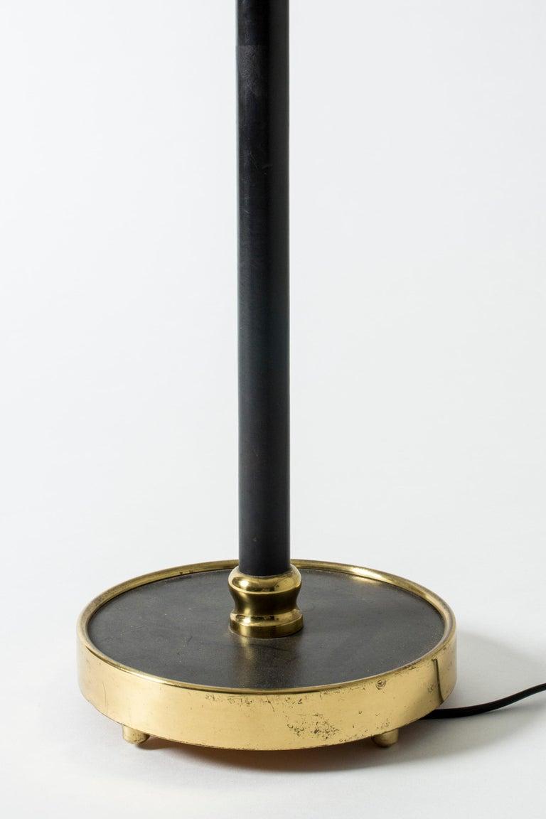 Brass Table Lamp #2434 Designed by Josef Frank for Svenskt Tenn, Sweden For Sale