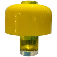 Mid-Century Modern Table Lamp and Vase LT226 by Carlo Nason for Mazzega, Italy