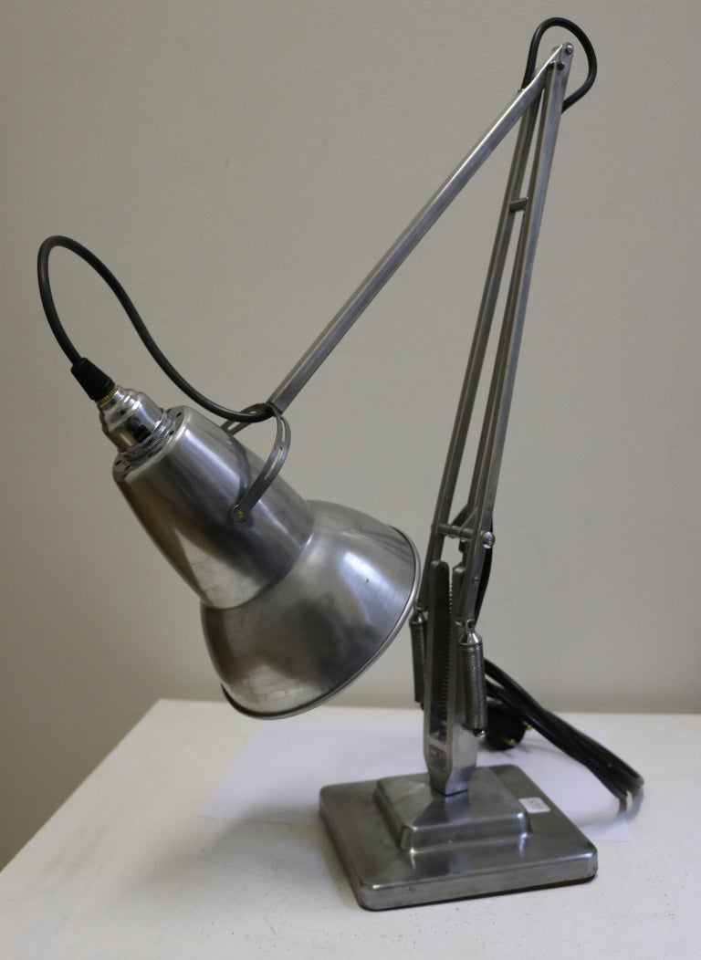 British Table Lamp Anglepoise by G. Cawardine and Produced by Herbert Terry, UK, 1950s For Sale