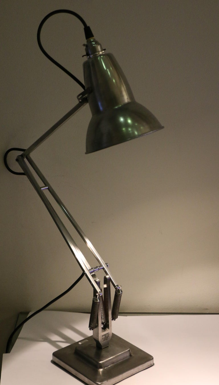 Table Lamp Anglepoise by G. Cawardine and Produced by Herbert Terry, UK, 1950s For Sale 1
