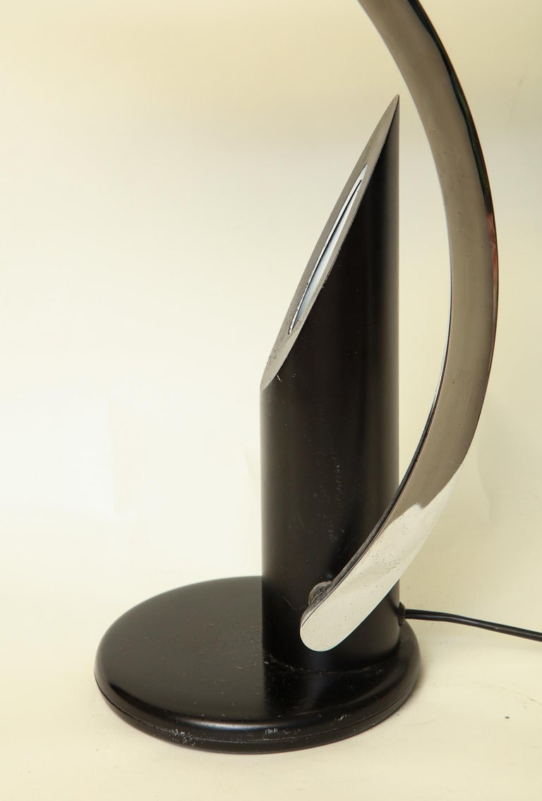 Table Lamp Articulated Mid-Century Modern, Italy, 1970s In Good Condition For Sale In New York, NY