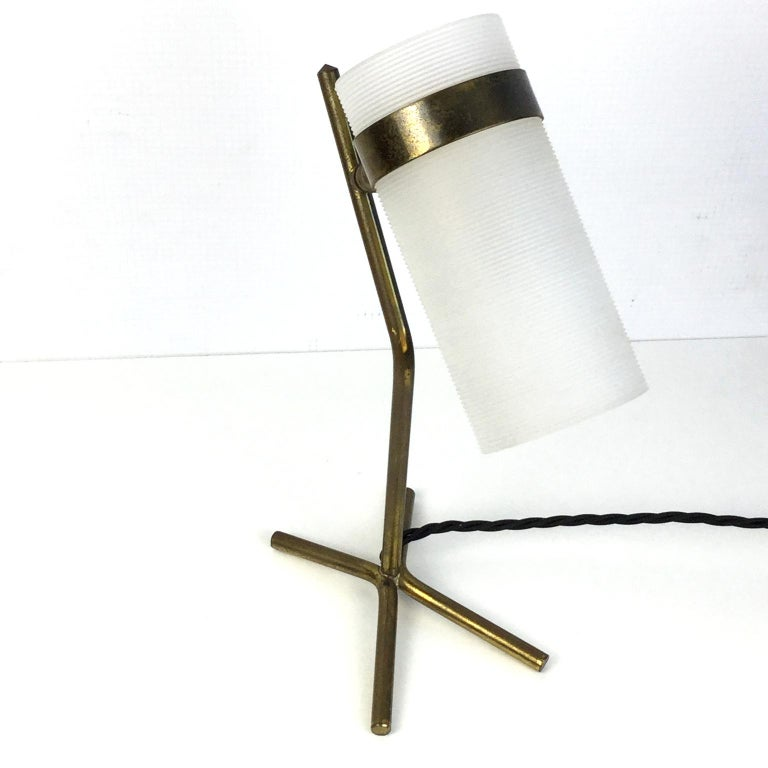 Table Lamp Attributed to Pierre Guariche and Boris Jean Lacroix, France, 1950s For Sale 2