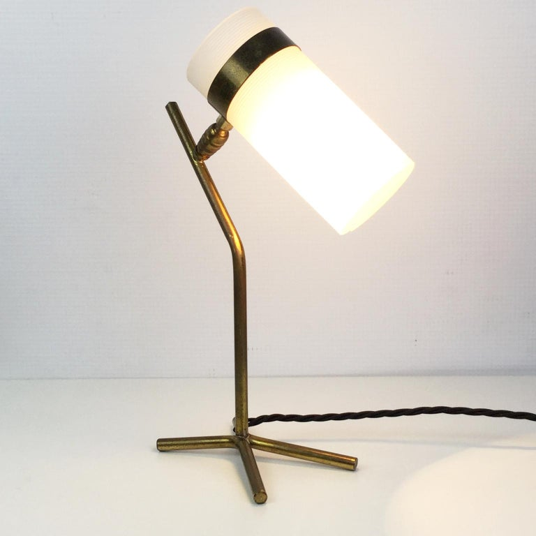 Table Lamp Attributed to Pierre Guariche and Boris Jean Lacroix, France, 1950s In Good Condition For Sale In London, GB