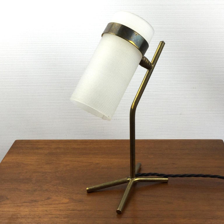 Table Lamp Attributed to Pierre Guariche and Boris Jean Lacroix, France, 1950s For Sale 1