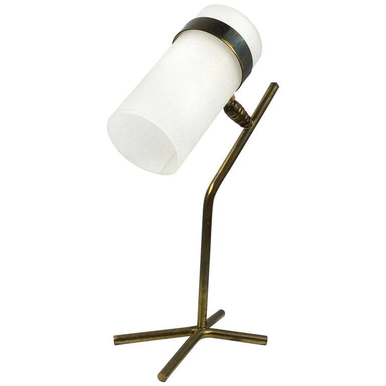 Table Lamp Attributed to Pierre Guariche and Boris Jean Lacroix, France, 1950s For Sale