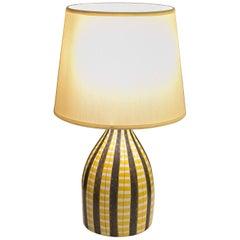 Table Lamp Base Designed by Stig Lindberg for Gustavsberg
