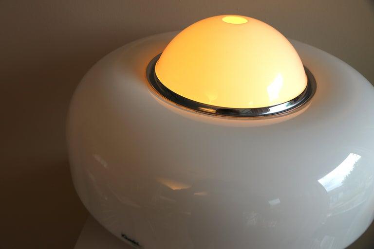 Table Lamp Brumbury by Luigi Massoni for Guzzini / Iguzzini, 2 available 3