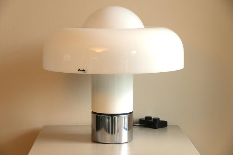 Italian Table Lamp Brumbury by Luigi Massoni for Guzzini / Iguzzini, 2 available