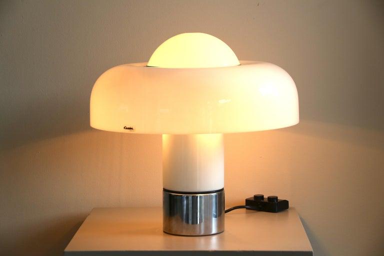 Late 20th Century Table Lamp Brumbury by Luigi Massoni for Guzzini / Iguzzini, 2 available