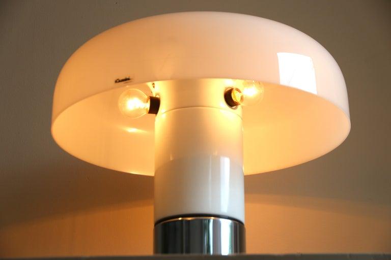 Acrylic Table Lamp Brumbury by Luigi Massoni for Guzzini / Iguzzini, 2 available