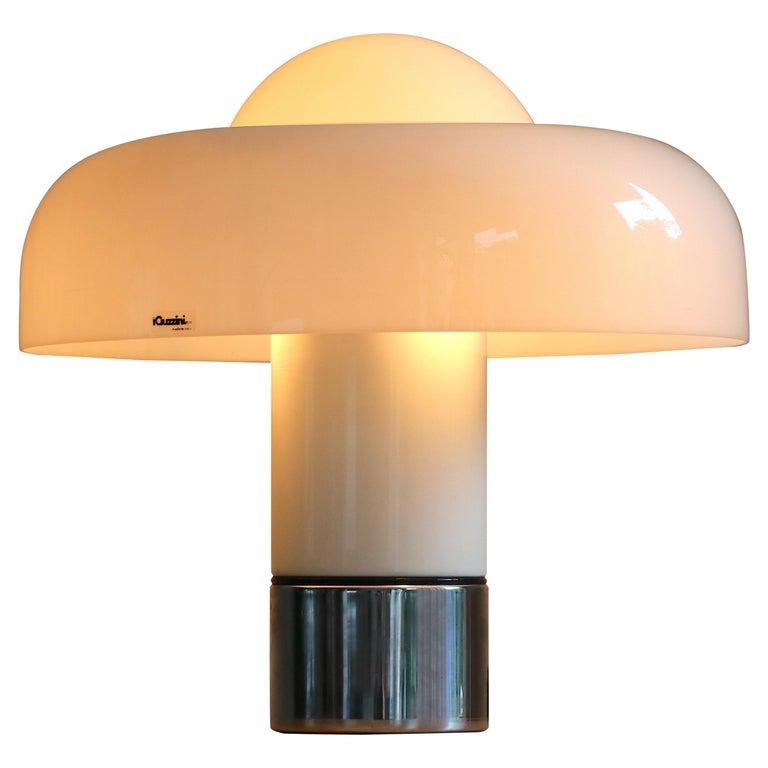 Table Lamp Brumbury by Luigi Massoni for Guzzini / Iguzzini, 2 available