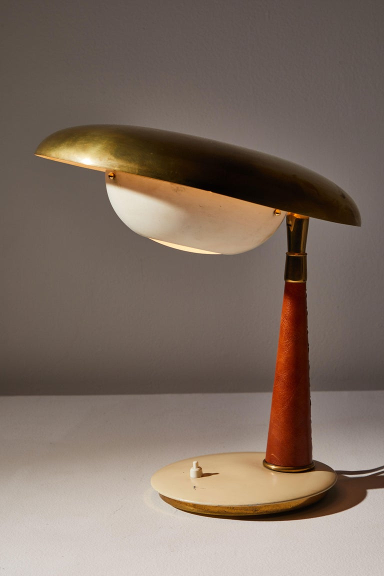 Mid-Century Modern Table Lamp by Arredoluce For Sale