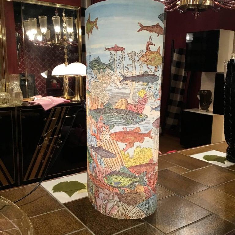 Italian Table Lamp by Barnaba Fornasetti for Antonangeli For Sale