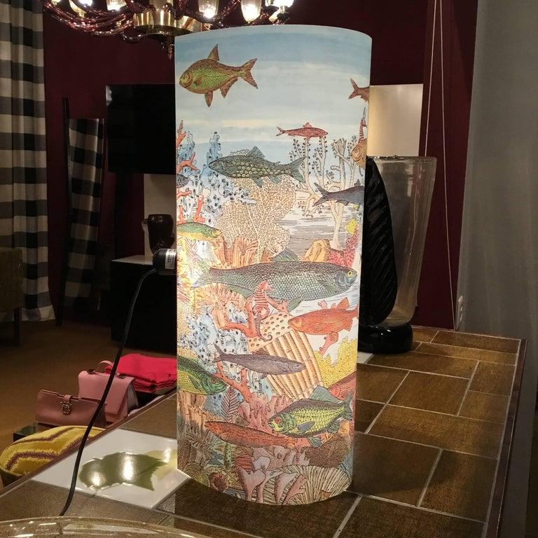 Italian Table Lamp by Barnaba Fornasetti for Antonangeli,