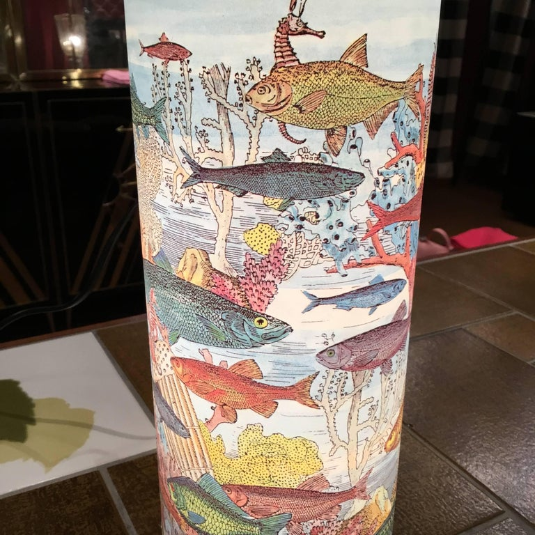 Late 20th Century Table Lamp by Barnaba Fornasetti for Antonangeli For Sale