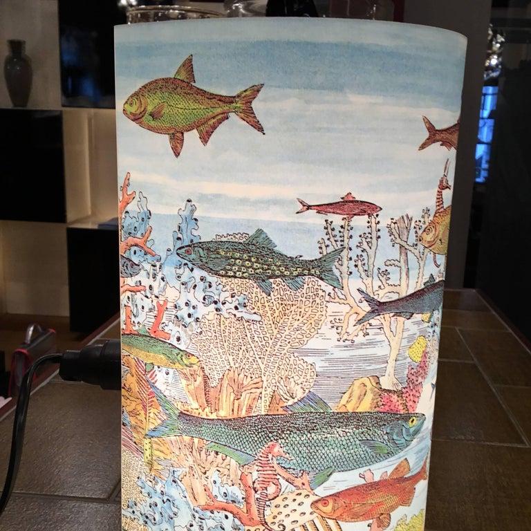 Table Lamp by Barnaba Fornasetti for Antonangeli For Sale 1