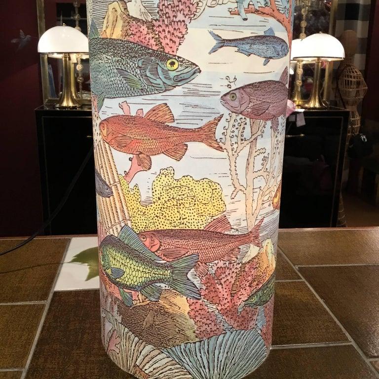Table Lamp by Barnaba Fornasetti for Antonangeli For Sale 2