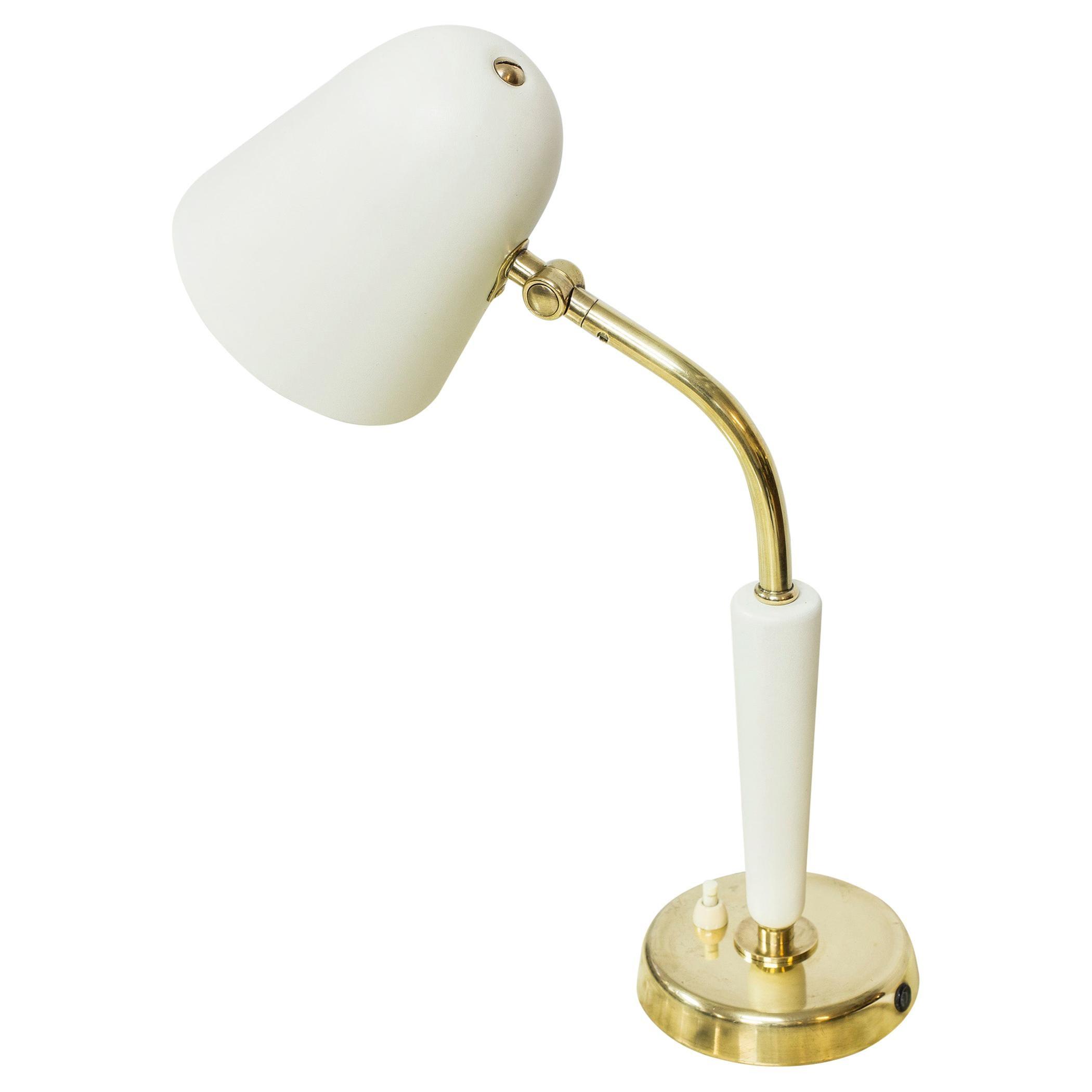 Table Lamp by Bertil Brisborg for Nordiska Kompaniet, 1940s, Sweden