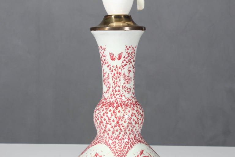Scandinavian Modern Table Lamp by Bjorn Wiinblad for Nymølle, Denmark, 1970s