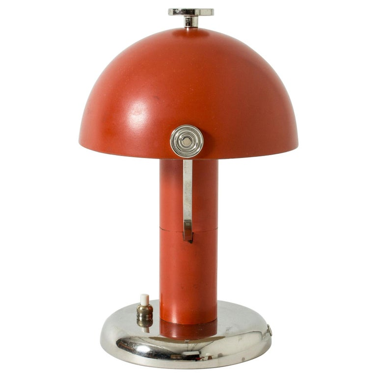 Table Lamp by Bo Notini for Böhlmarks, Sweden, 1930s For Sale