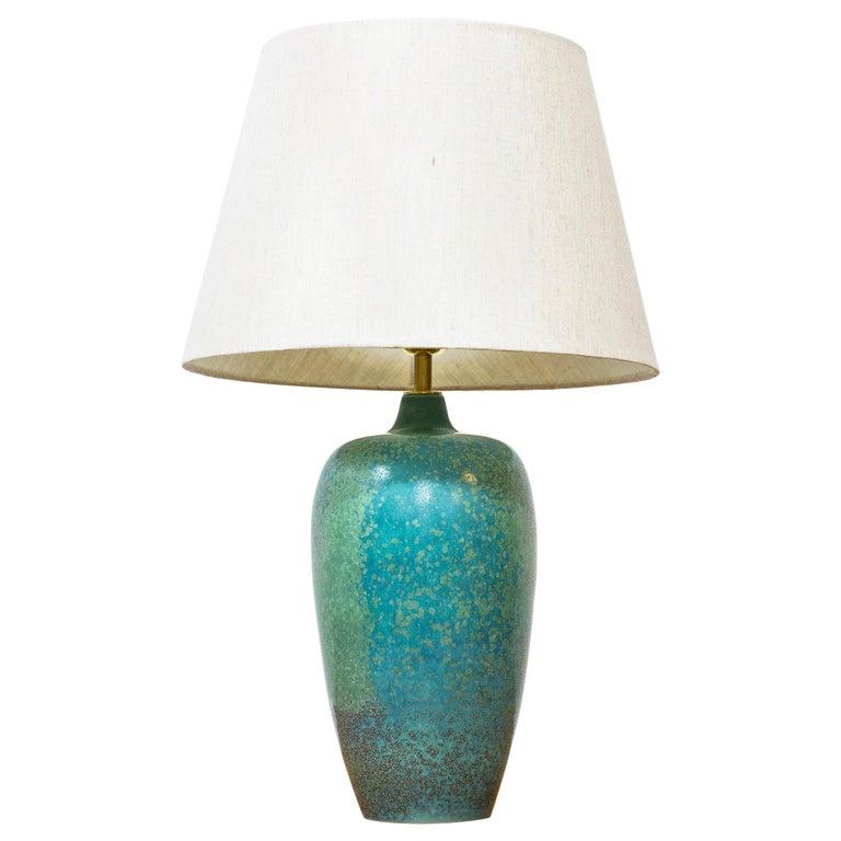 Carl-Harry Stålhane for Rörstrand table lamp, 1950s, offered by Modernisten
