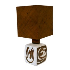 Table Lamp by Carl-Harry Stålhane for Rörstrands, Midcentury Ceramic