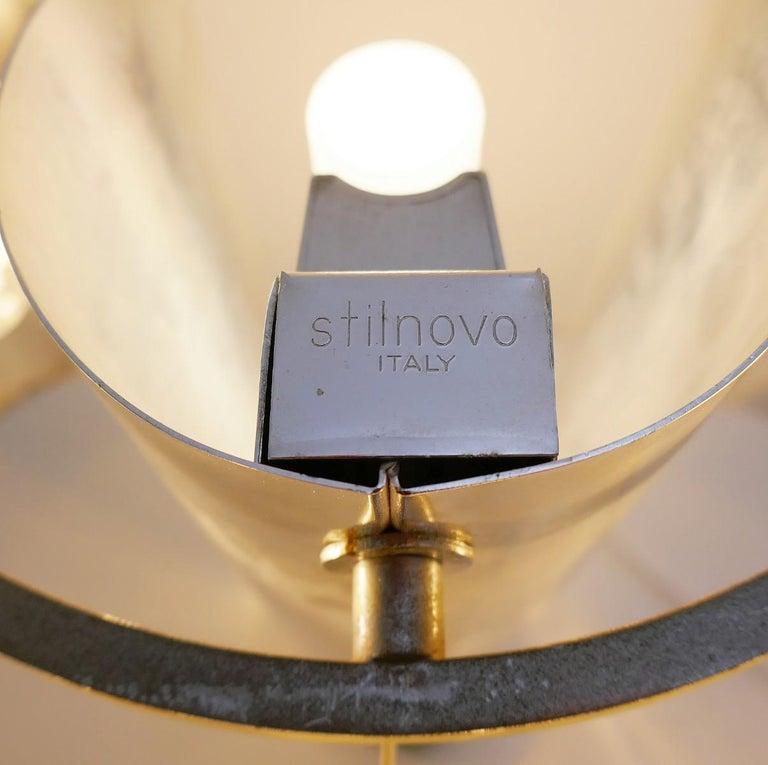 Mid-Century Modern Table Lamp by Costantino Corsini & Giorgio Wiskemann for Stilnovo For Sale
