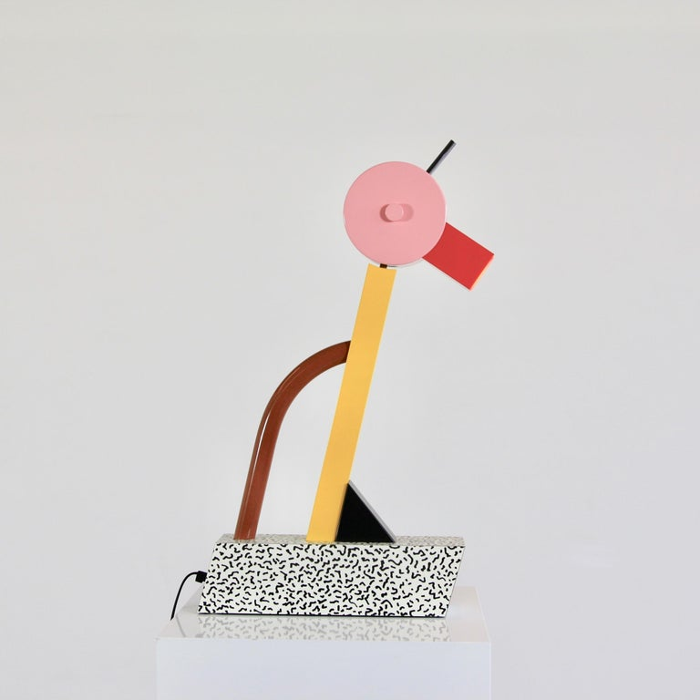 Modern Table Lamp by Ettore Sottsass For Sale
