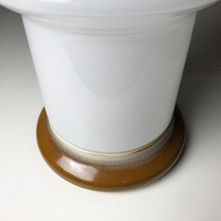 Table Lamp by Ivan Jakes for Osvetlovski Sklo, Czechoslovakia, 1960s In Good Condition For Sale In Haderslev, DK