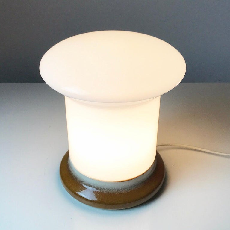 Table Lamp by Ivan Jakes for Osvetlovski Sklo, Czechoslovakia, 1960s For Sale 1