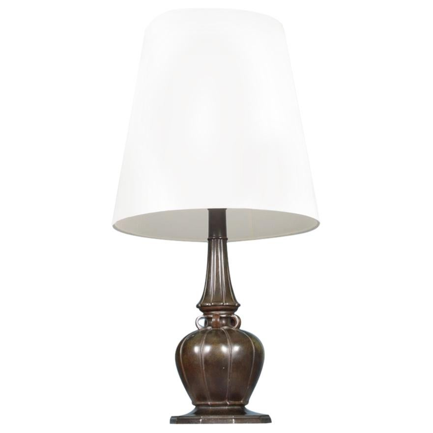 Table Lamp by Just Andersen Made in Denmark, 1940s