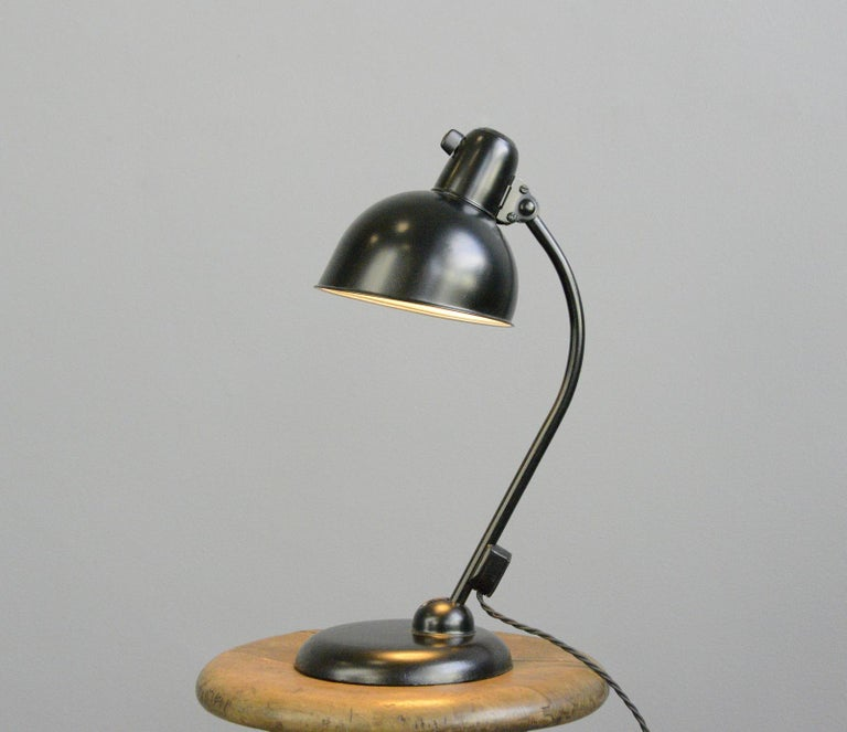 Bauhaus Table Lamp by Kaiser Jdell, circa 1930s For Sale