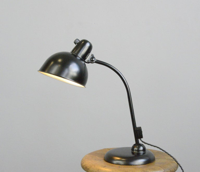 Table Lamp by Kaiser Jdell, circa 1930s In Good Condition For Sale In Gloucester, GB