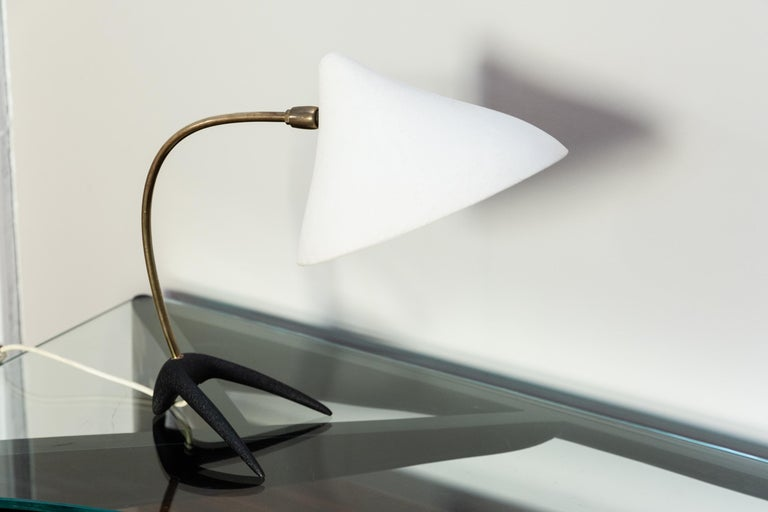 Aluminum Table Lamp by Louis Kalff for Philips, circa 1950 For Sale