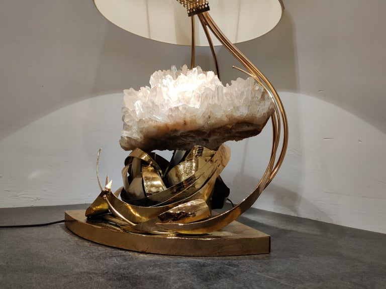 Table Lamp by Marc D'Haenens, 1970s In Good Condition For Sale In Ottenburg, BE
