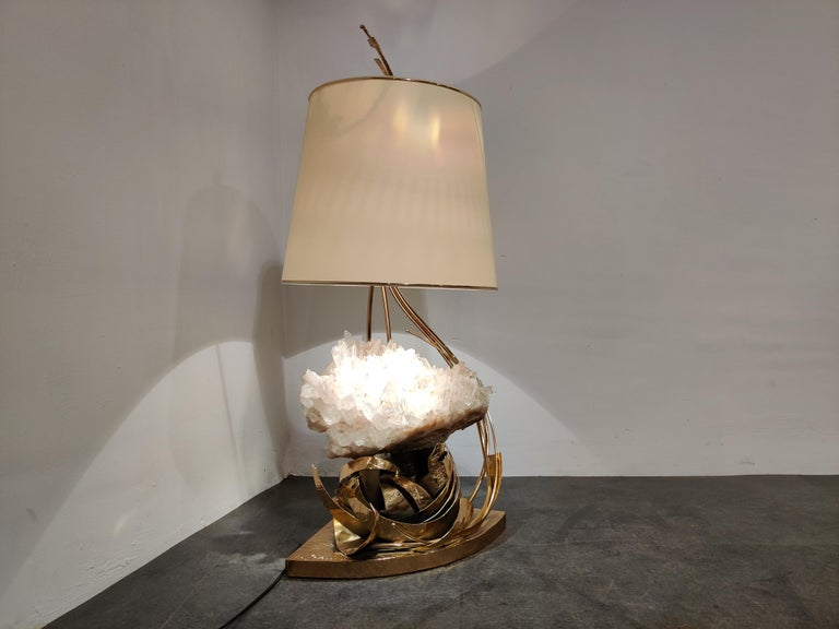 Table Lamp by Marc D'Haenens, 1970s For Sale 1