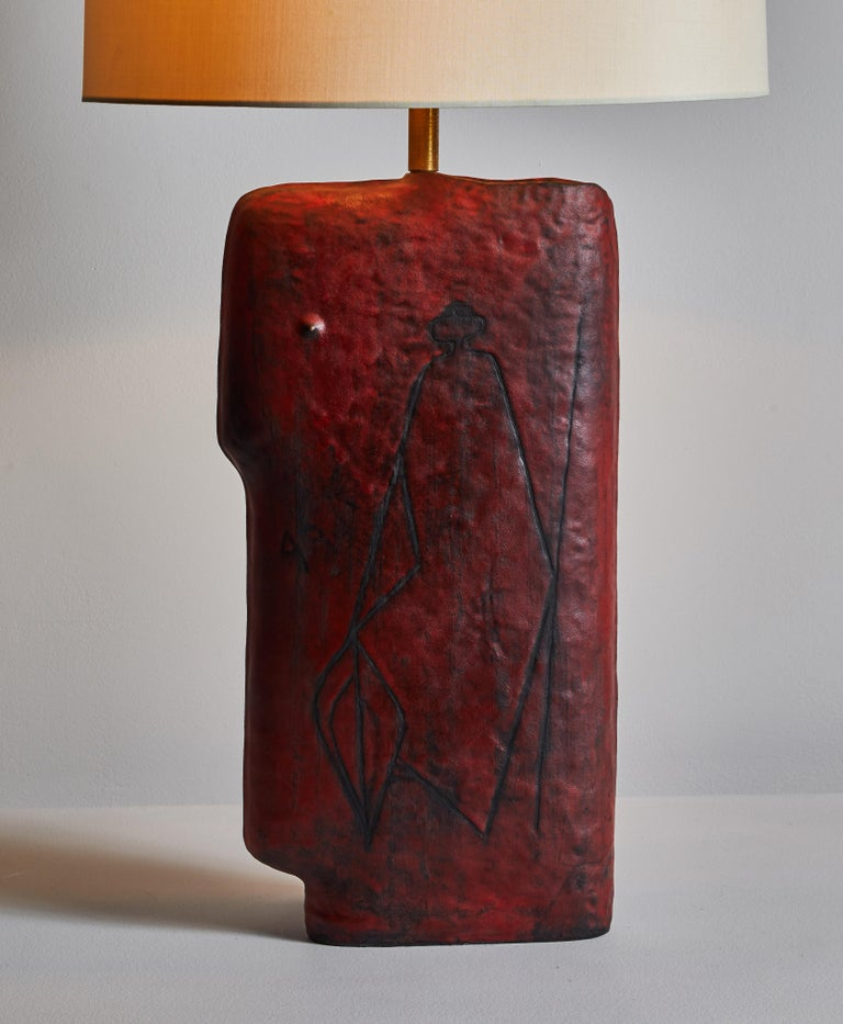Mid-Century Modern Table Lamp by Marcello Fantoni Studio For Sale
