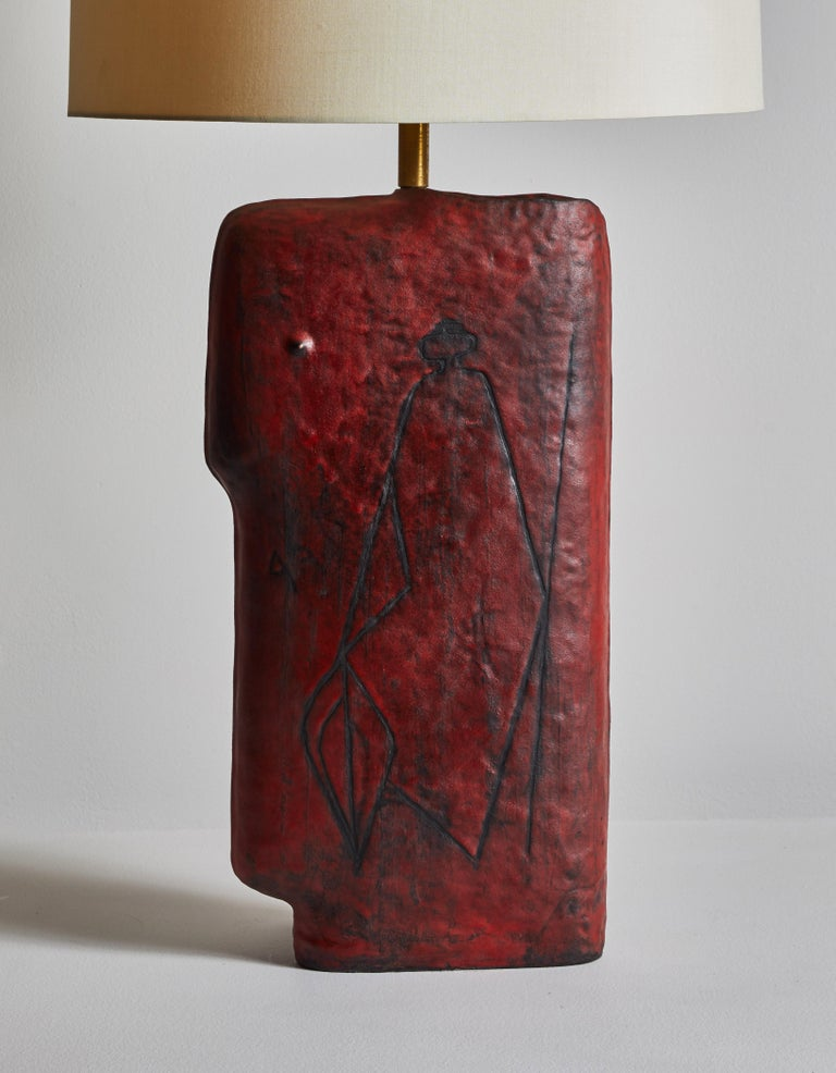 Late 20th Century Table Lamp by Marcello Fantoni Studio For Sale