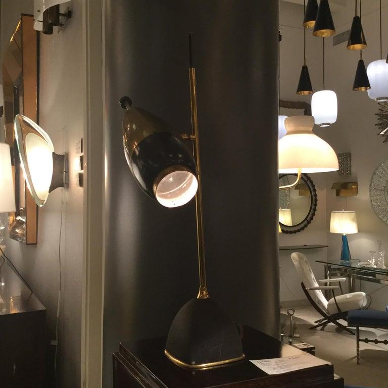 Mid-Century Modern Table Lamp by Oscar Torlasco for Lumi, Italy, 1960 For Sale