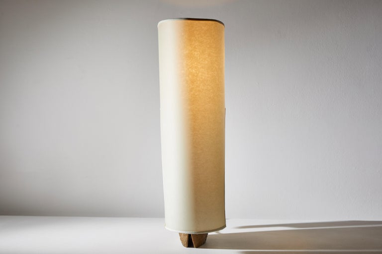 Bronze Table Lamp by Pragos For Sale