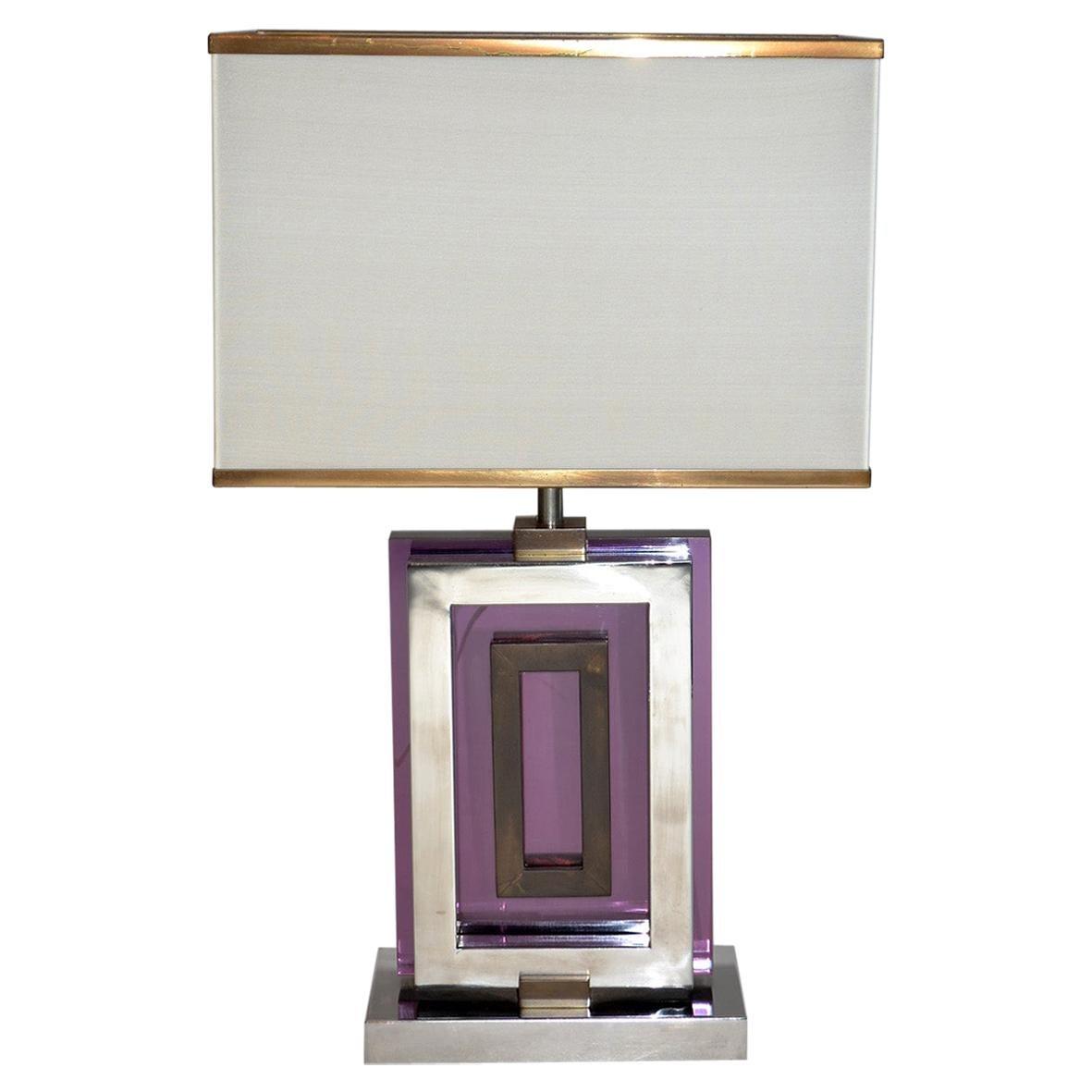Table Lamp by Romeo Rega, Italy, 1970's