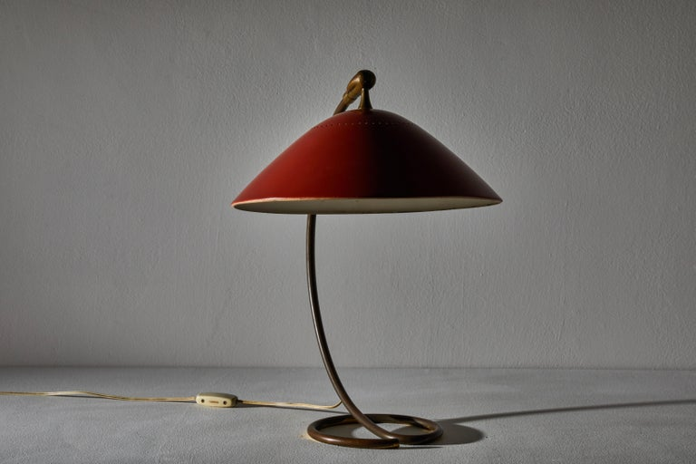 Metal Table Lamp by Stilnovo For Sale