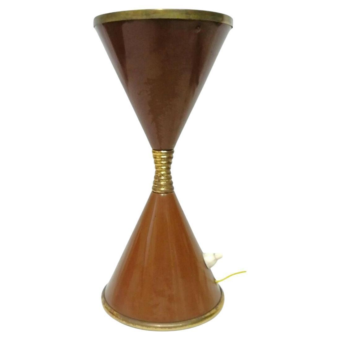 "Table Lamp ""Clessidra"" Design Angelo Lelii Lelli for Arredoluce, 1960s"