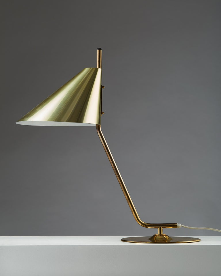 Scandinavian Modern Table Lamp Designed by Hans Agne Jakobsson, Sweden, 1960s For Sale