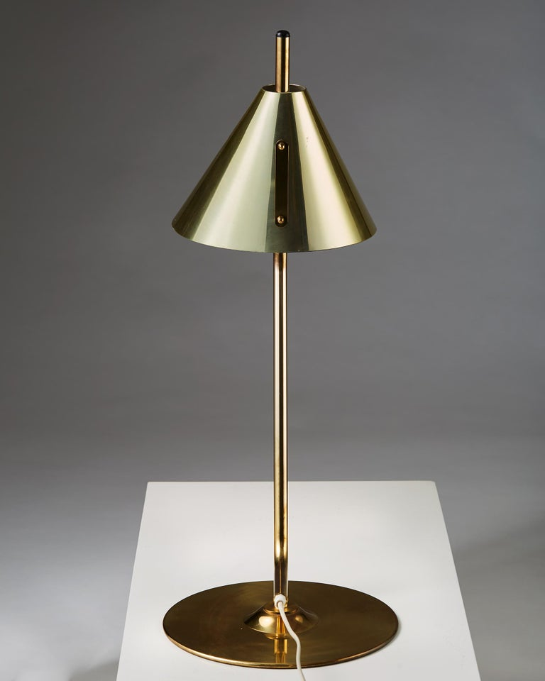 Swedish Table Lamp Designed by Hans Agne Jakobsson, Sweden, 1960s For Sale