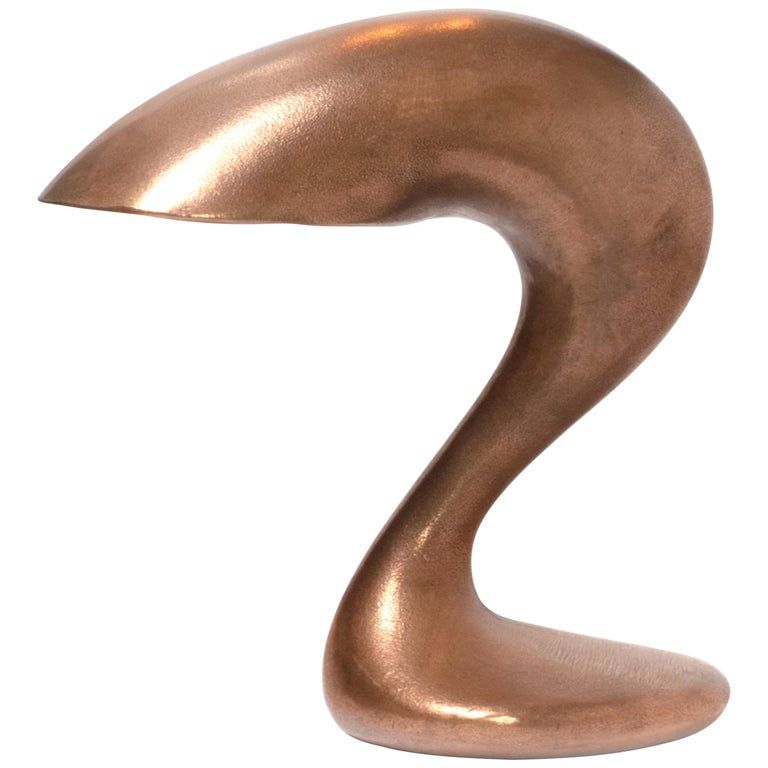 Table Lamp, Eliza's Big Question, Burnished Copper, Jordan Mozer USA, 2002 For Sale