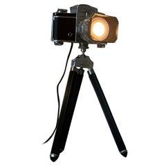 Table Lamp from an Exakta Varex Camera