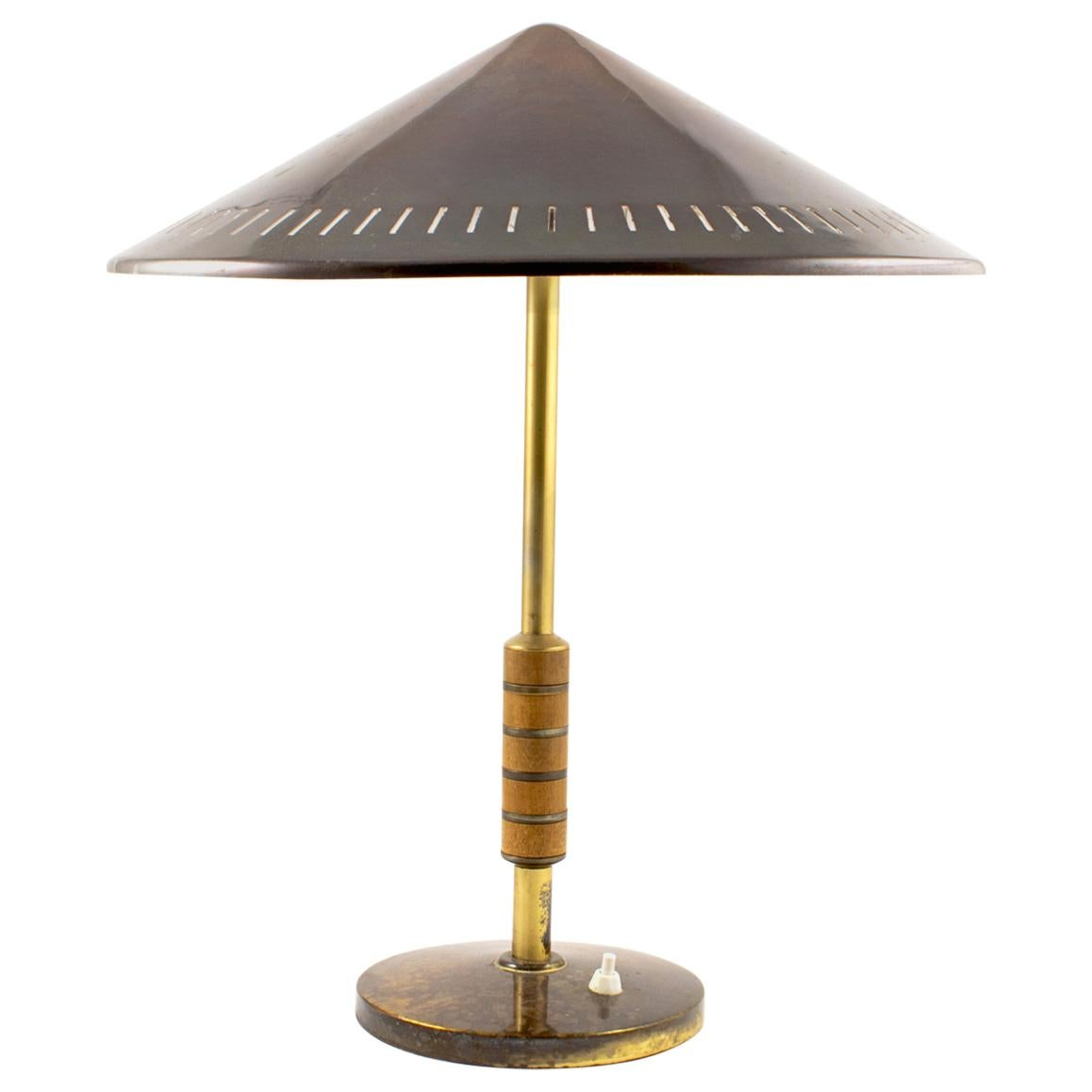 Table Lamp from Lyfa Designed by Bent Karlby, circa 1956