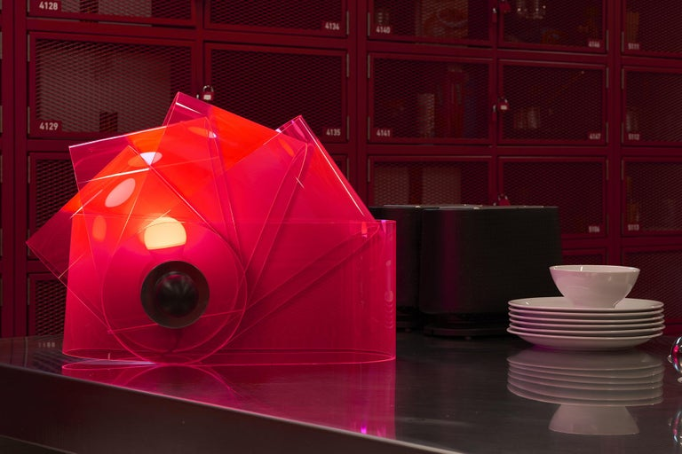 Table Lamp Gherpe Model by Superstudio for Poltronova, Italy In Excellent Condition For Sale In Milan, Italy
